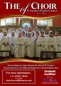 Choir Practice @ St. George's Parish Church